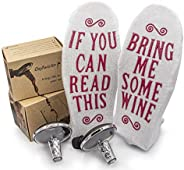 OxyTwister 2 Pack With Funny Socks.OxyTwister Wine Aerator Pourer Best Wine Quality Wine Gift Danish Design Pr