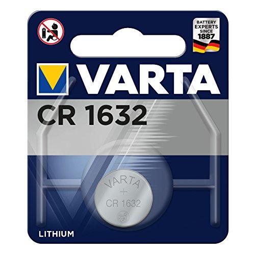 VARTA CR1632 - Pack de 1 pila (litio, 3 V, 135 mAh)