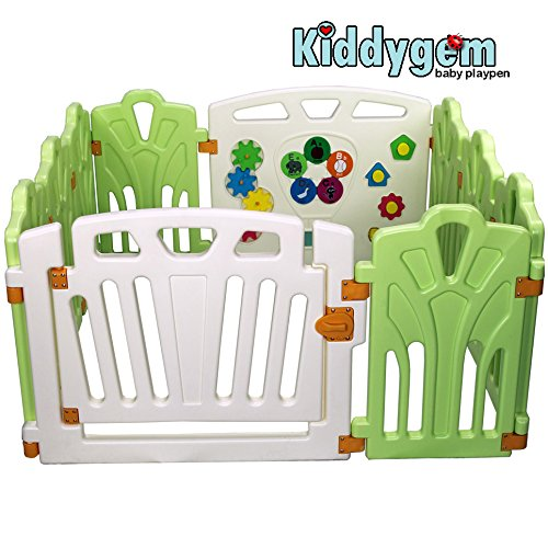 Puzzle And Beep Fun Baby Playpen Kid Play Zone 10 Panels