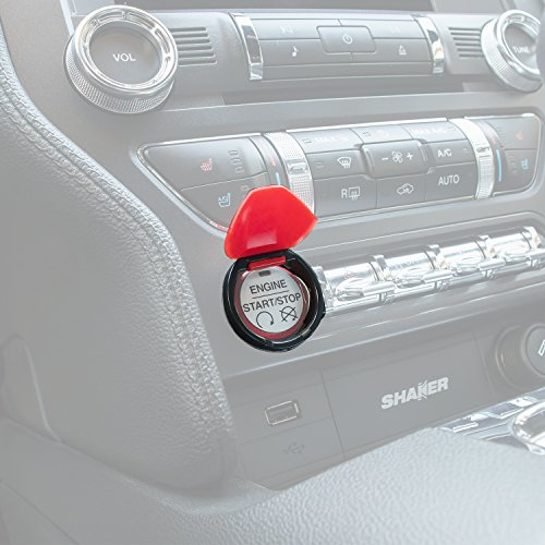 Fords the best amazon price in savemoney yoursme engine start stop button cover red abs push switch interior cover trim for 2015 2016 fandeluxe Gallery