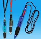 5.75'' x .5'' MULTI-COLOR PEN ON ROPE, Case of 432