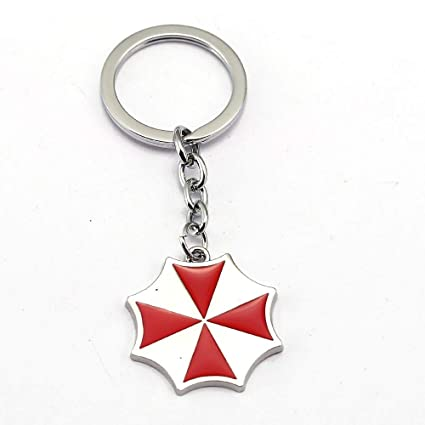 Value-Smart-Toys - Resident Evil Keychain Umbrella Key Ring ...