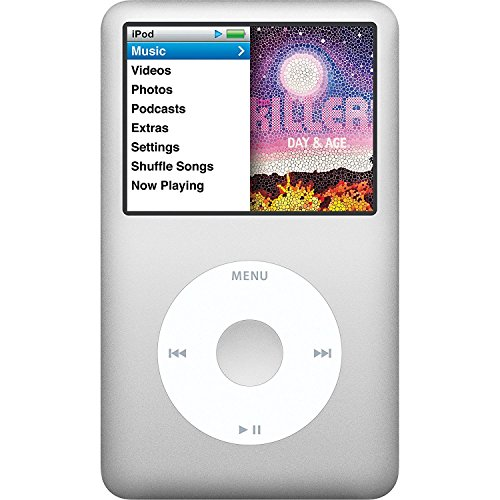 Apple iPod classic 120 GB Silver 6th Generation (Discontinued by Manufacturer) Non Retail White Box Packaging