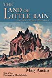 The Land of Little Rain, Mary Hunter Austin, 0865345406