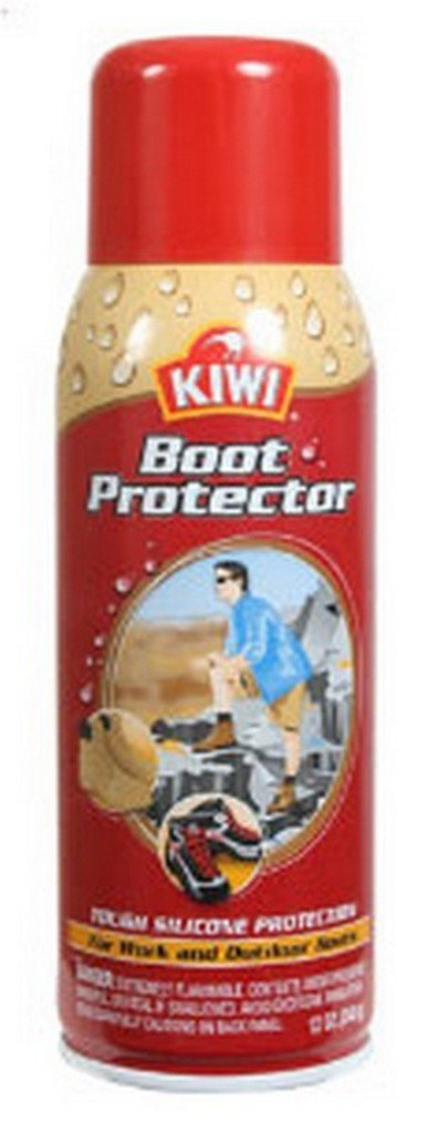 Kiwi Aerosol Tough Silicone Protection Work Boots Footwear Protector 10.5 oz (2 Pack)