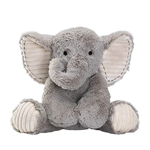 (Lambs & Ivy Jungle Safari Gray Plush Elephant Stuffed Animal Toy - Jett )