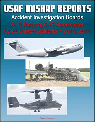 U.S. Air Force Aerospace Mishap Reports: Accident