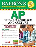 img - for Barron's AP French Language and Culture with MP3 CD (Barron's AP French (W/CD)) book / textbook / text book