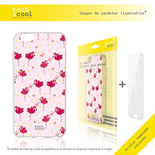 Iphone 6 / 6S Hülle, Funnytech® SchutzHülle premium Soft Flex TPU Silikon Transparent für Iphone 6 / 6S + Panzerglas Schutzfolie 9H l Case, Cover, Handy [Exklusives Design, High Definition Druck] [seh
