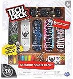 Tech Deck Darkstar Skateboards Sk8shop Bonus Pack with 6 Fingerboards - 20th Anniversary