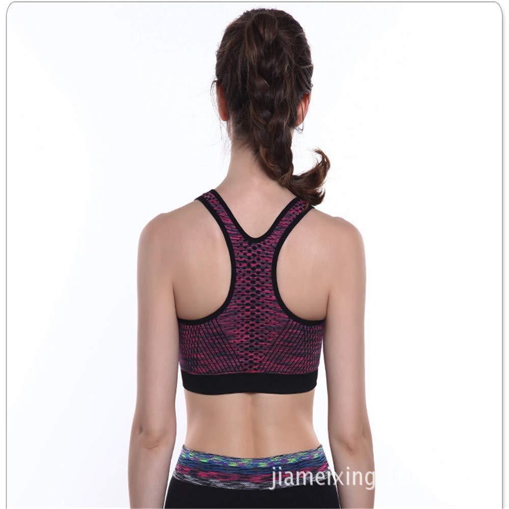 Soluo Sports Bra Seamless Stretchy Yoga Running Fitness Workout Underwear Bikini