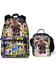 Summeridea Cool Space Starry Sky Printing Backpack Schoolbag Laptop Bag