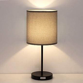 Lámpara de mesilla - Lámpara de escritorio minimalista Lámpara de ...
