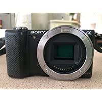 Sony Alpha A5000 ILCE5000/B 20.1MP Mirrorless Digital Camera Body Only (Black)