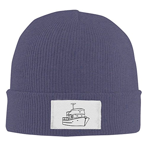 Price comparison product image Adult Fashion DeFever Yacht Rib Knit Caps Skull Cap Winter Hat
