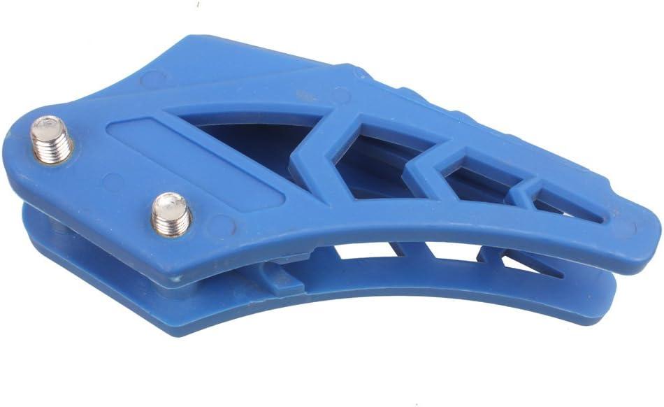 Alas 125cc suciedad pit bike Cadena Guía de Guard Protector 110/150/200cc SDG KLX apollo–Azul