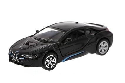 Amazon Com New 1 36 Kinsmart Display Black Color Bmw I8 Diecast