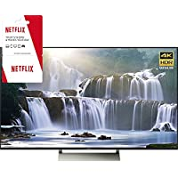Sony XBR-75X940E 75 4K HDR Ultra HD Smart LED TV 2017 Model with 2 Year Netflix Subscription