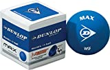 Dunlop Max Racquet Sports World No 1 Tournament Play Squash Ball (sold Single)