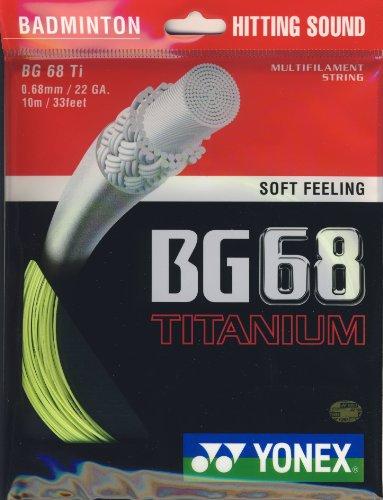 Yonex BG68 Titanium Badminton Strings