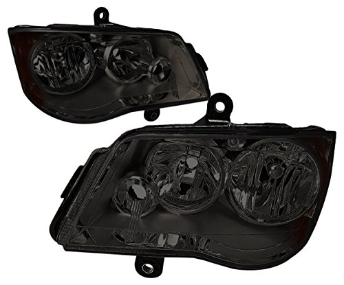 DNA MOTORING HL-OH-012-SM-AM Headlight Assembly, Driver And Passenger Side ()