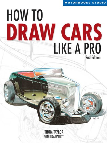 - How to Draw Cars Like a Pro, 2nd Edition (Motorbooks Studio)