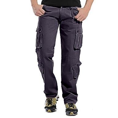 Pantalones Cargo Pantalones De Trabajo Pantalones Combate Algodón ...
