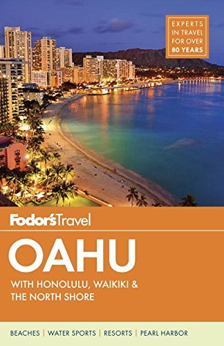 Fodors Oahu Honolulu Waikiki Full color product image