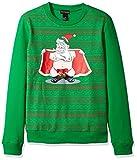 Product review for Alex Stevens Men's Jingle Balls Santa Ugly Christmas Sweater