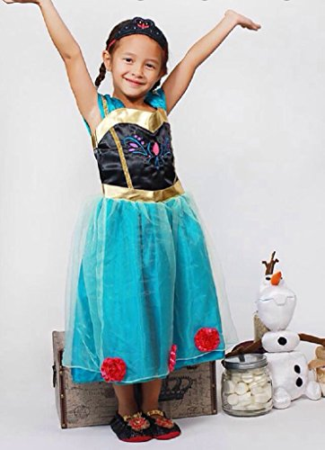baby girl toddler anna coronation dress halloween