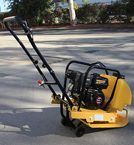 9TRADING 6.5HP GAS POWER WALK BEHIND PLATE COMPACTOR for sale  Delivered anywhere in USA
