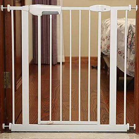 Huo Barrera de Seguridad Extra Ancho Escaleras Puerta de Pasillo del Umbral de Bebé Puertas A Presión Monte (Size : 145-152cm): Amazon.es: Hogar