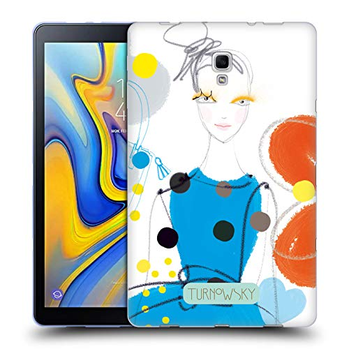 Official Turnowsky Blue Dress Anna B 2 Soft Gel Case for Samsung Galaxy Tab A 10.5 ()