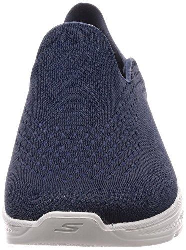 Men's 4 Shoes Slip Navy on Performance Gray Go Convertible Walk Skechers UI4qTdU