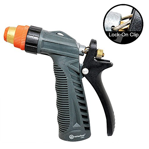 Centurion imrn heavy duty metal hose nozzle with rear