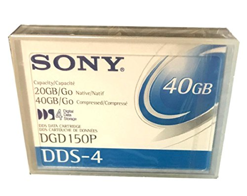 Sony 10-pack Dds4 20/40GB 150m 4mm Data Cart
