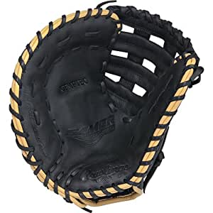 Rawlings  Gamer Gloves with Pro Taper Diamond Single Post Web, Left Hand, Black, 11.25""