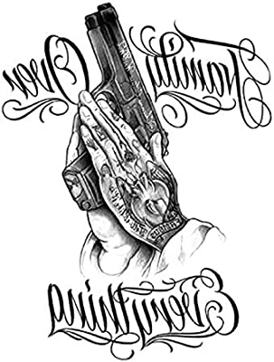 Brazo de la flor pegatinas de tatuaje pegatinas de tatuaje a ...