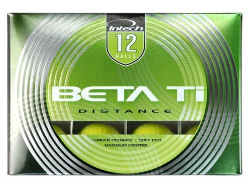 Beta Ti Golf Balls, Pack of 12