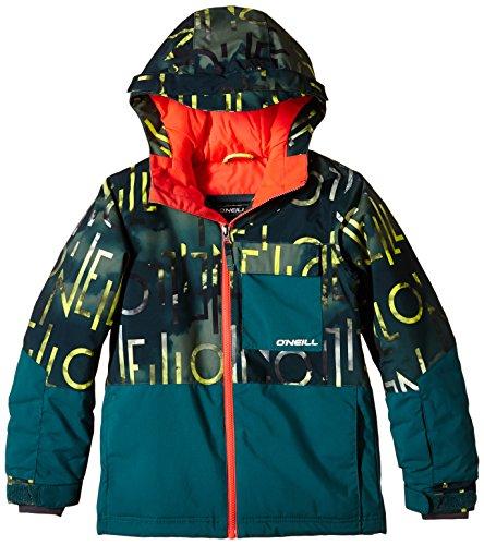 O'Neill Jungen Skijacke PB Hubble Jacket, Green Aop, 164, 550077