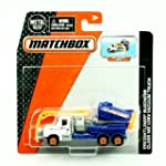FREIGHTLINER BUSINESS CLASS M2 106V VACUUM TRUCK * Real Working Parts * 2015 Matchbox Real Working Rigs Die Cast Vehicle