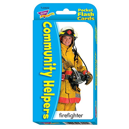 Community Helpers & Careers Pocket Flash Cards