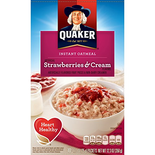 al, Strawberry & Cream, Breakfast Cereal, 10 Packets ()