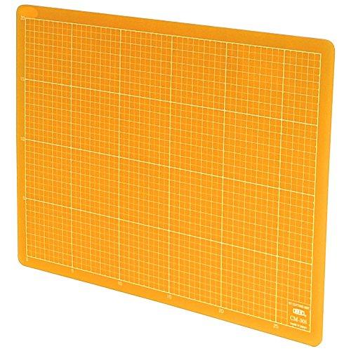 NT Cutter Colorful Translucent Cutting Mat, 9 x 12 Inches, Translucent Orange, 1 Mat (CM-30I-O)