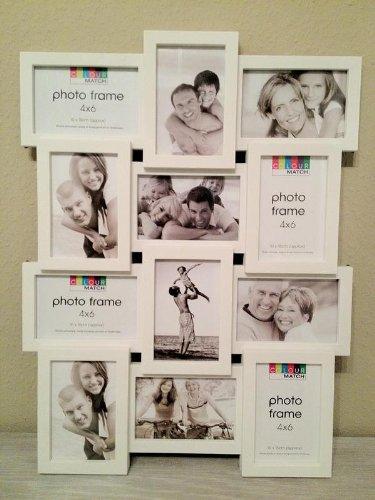3D Marco De Fotos, Portaretratos Collage 12 Fotos Galería de Fotos en negro De canto Nuevo Embalaje Original: Amazon.es: Hogar