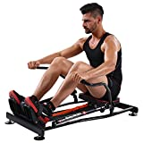 KiNGKANG Rowing Machine Adjustable Resistance Fitness Home Training Workout Rower Equipment