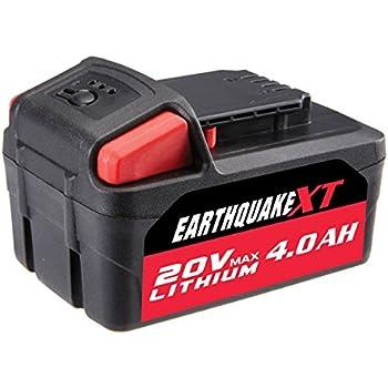 Earthquake 20v 4 0 Ah Lithium Ion Battery Amazon Com