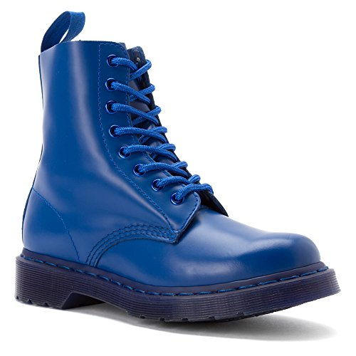 Dr. Martens Mens Pascal 8 Eye Boot Blå