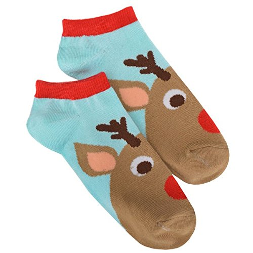 Reindeer Fabric Socks, 1 pair | Christmas Costume