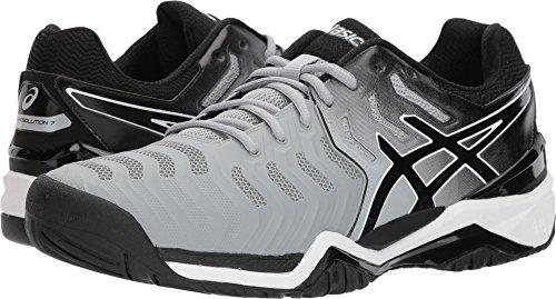 Asics Gel Express - ASICS Men's Gel-Resolution 7 Mid Grey/Black/White 11 D US